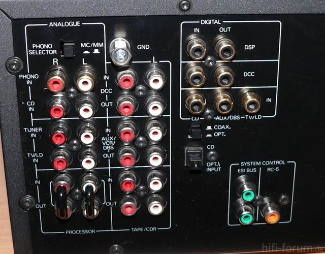 Philips FA 950 Rückseite Gesamt