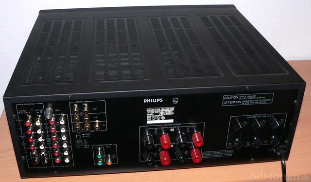 Philips FA 950 Rückseite