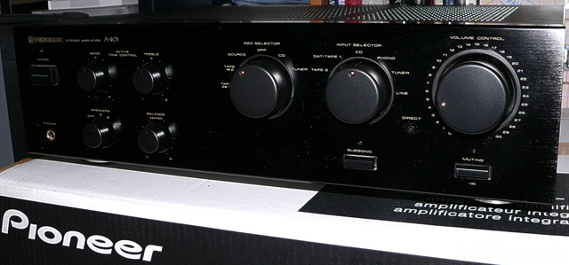 Pioneer A 401 Front