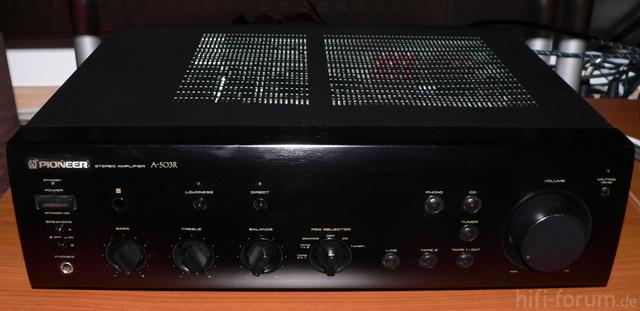 Pioneer A 503 R Frontansicht