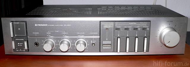 Pioneer SA 550 Front