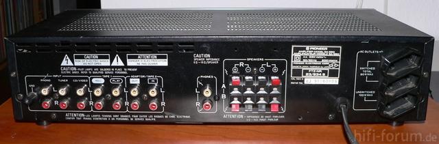 Pioneer SA 550 Rückseite