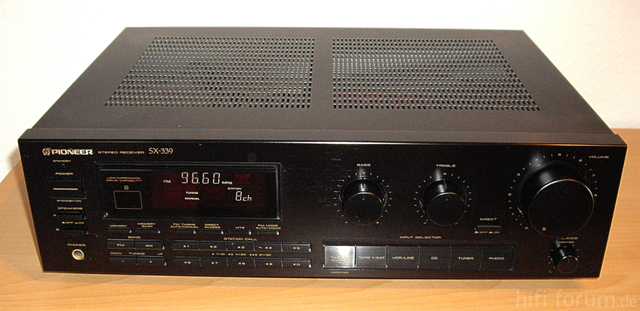 Pioneer SX 339 Front A