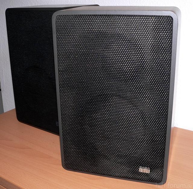 SABA Ultra HiFi Box 31 Front