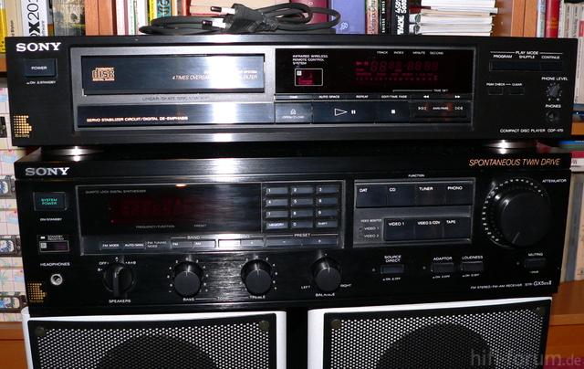 Sony STR-GX 5 ES CDP-470