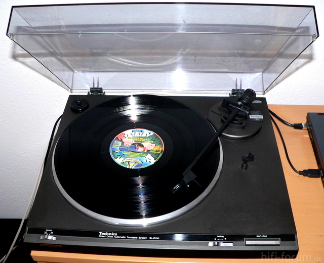 Technics SL-D 310 mit AT 3482