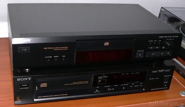 Zwei Sony CDP