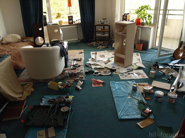 Bau Der Scan Fast - Chaos Im Wohnzimmer