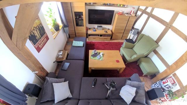 Wohnzimmer Hörbereich