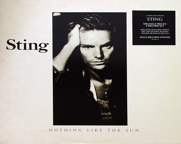 Sting- Nothing Like The Sun