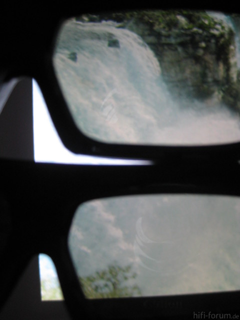 Vergleich JVC/Philips Brillen
