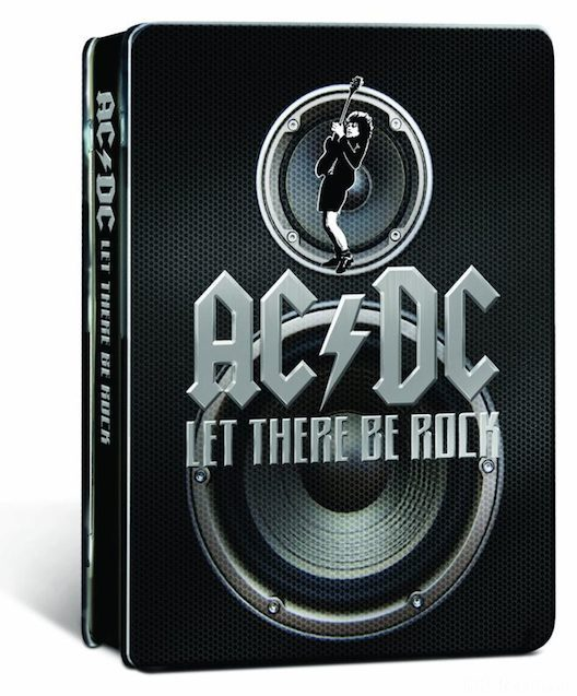AC/DC Let There Be Rock Ultimate Rockstar Edition Blu-Ray