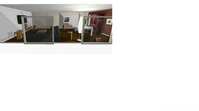 Wohnzimmer Blick Von Der Terasse
