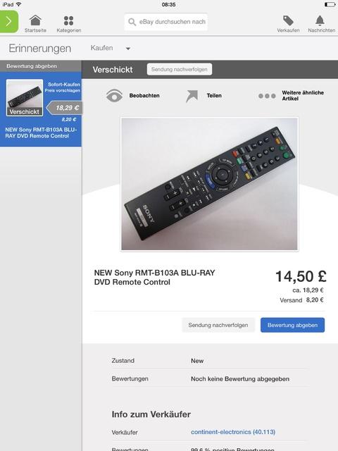 neuer Blu-Ray-Player: Sony BDP-S7200, Blu-ray Player & Ultra