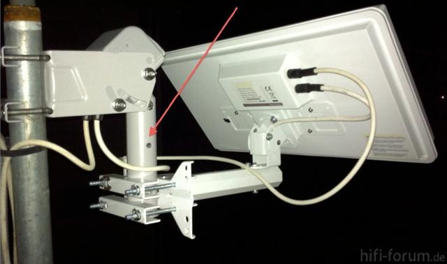 Antenne Mit Langer Rotorauflage