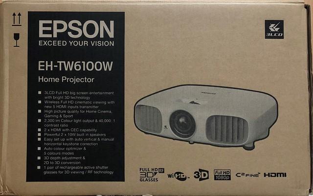 Epson EH-TW6100W 3D LCD Beamer