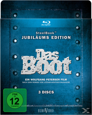 Das Boot Steelbook Jubilaeums Edition 3 Disc