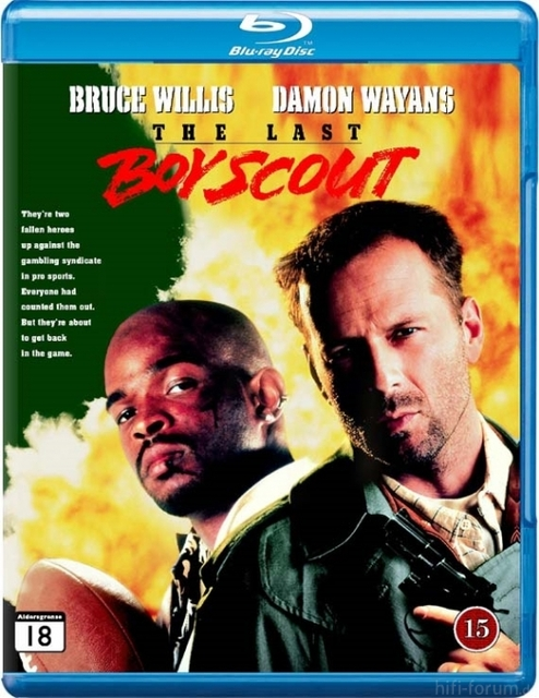 Ny The Last Boy Scout Blu Ray 123771