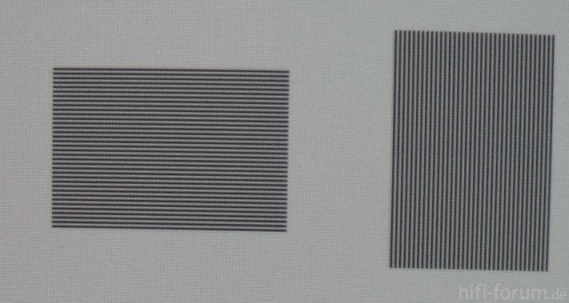 Pixelreihen
