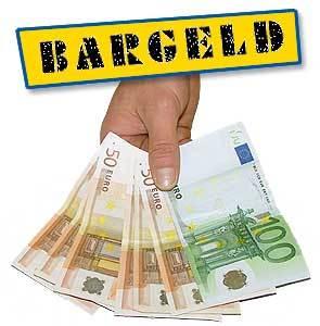 Bargeld Hand