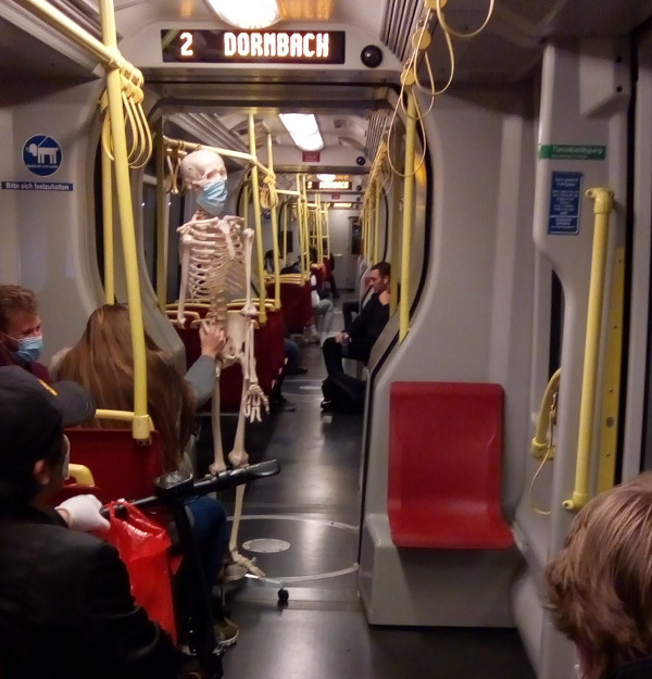 Maskenpflicht Straßenbahn