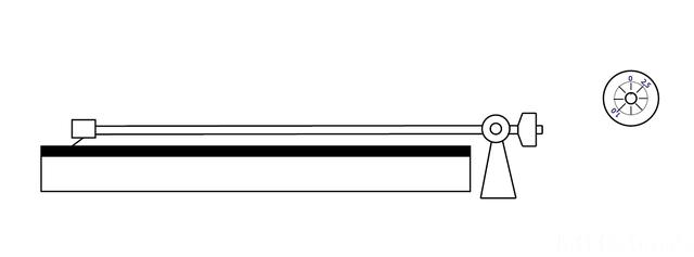 Tonarm-Nullstellung