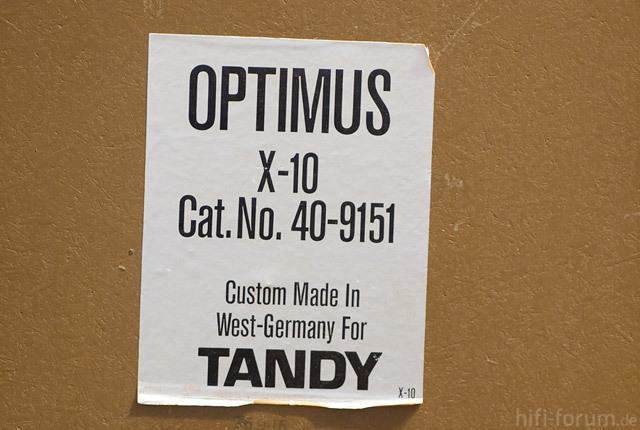 Realistic Optimus X-10