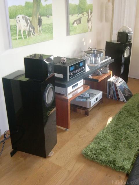 Wohnzimmer 2012 McIntosh Mit TR-Panda Und Thiel-LS