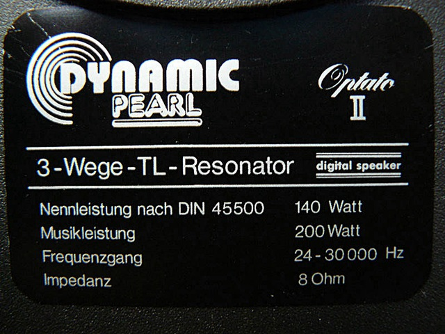 DynamicPearl Optato II