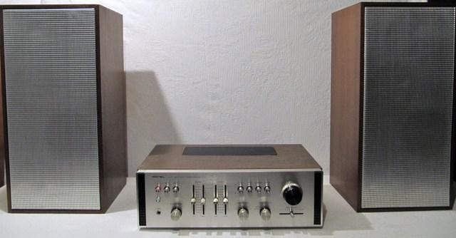 Isophon HSB 30/8, Rotel RA-611