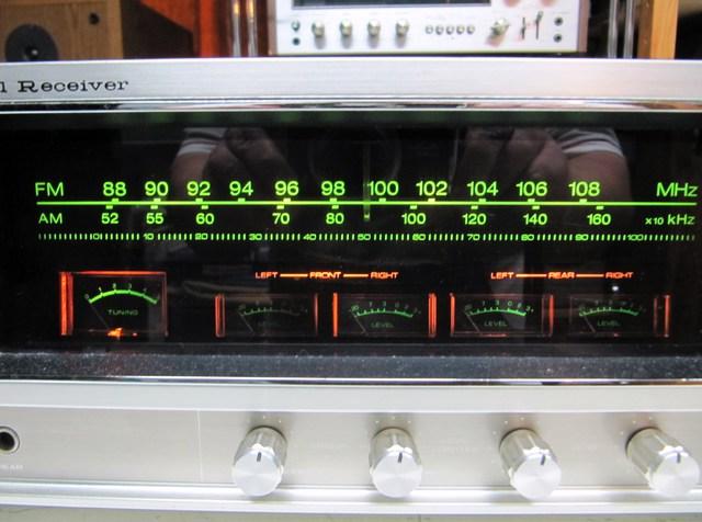 JVC GX-500E Display