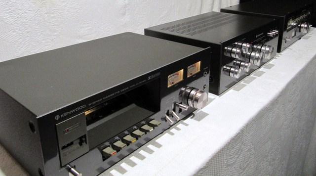 Kenwood KX-520 MKII, KA-1500MKII, KT-5300MKII