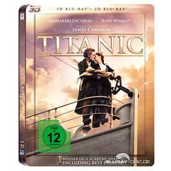 Titanic 3D Steelbook