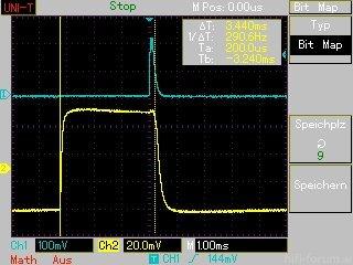 MAP009 Timing BD 120 Hz Dauer Hintergrundlicht