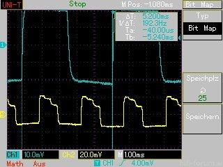 MAP025 Timing Ambilight (gelb) Zu Hintergrundlicht (blau) BD 2D =192Hz (24p)