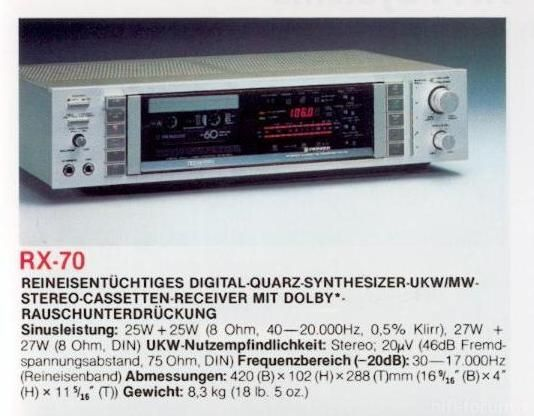 Pioneer RX 70 Next