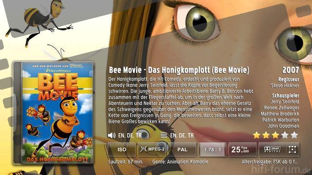 Bee Movie Backdrop