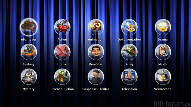 Genre Auswahl