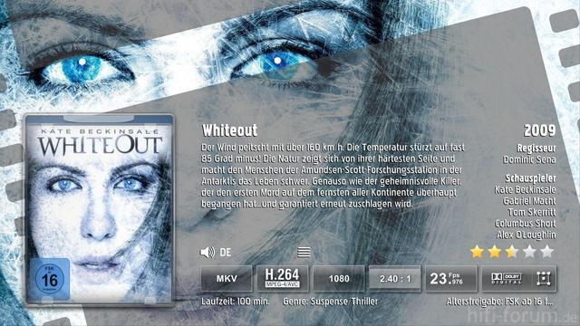 Whiteout Backdrop
