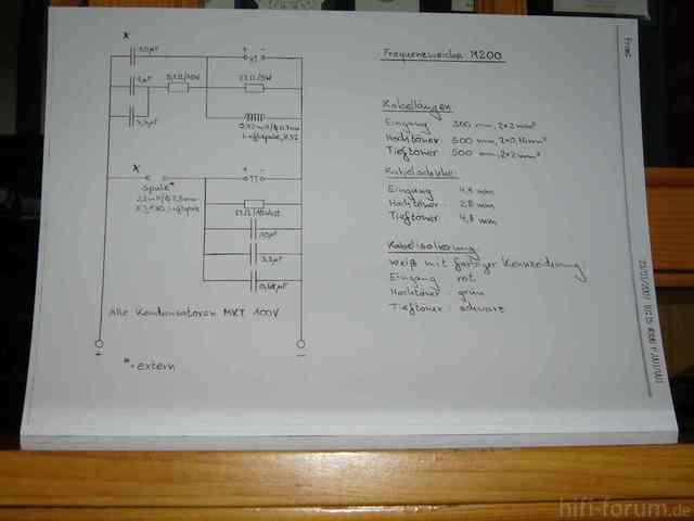 Schaltplan Weiche M200 Bis 08/91