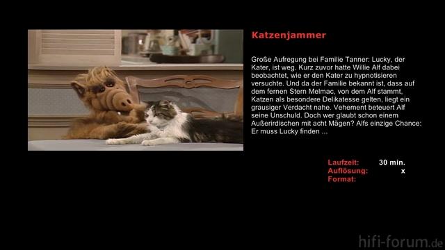 Alf   S01E03   Katzenjammer Avi Sheet