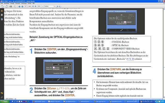 Audio Zuordnung S107
