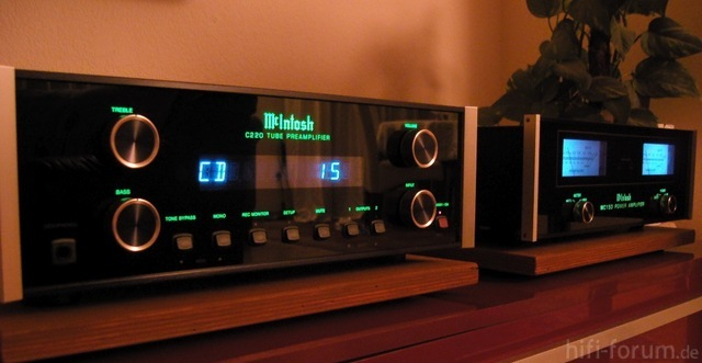 McIntosh MC220 + MC150