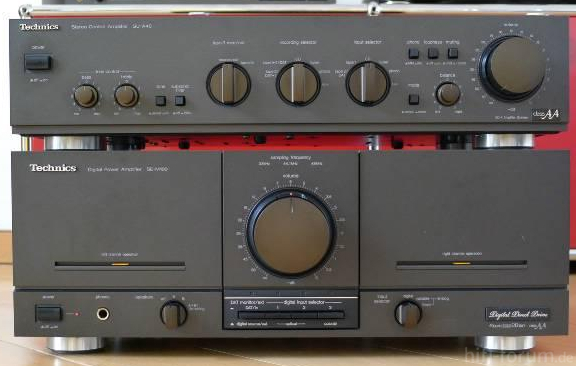 Technics Se M100 Vorverstaerker Su A40