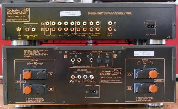 Technics SE M100+SU A40