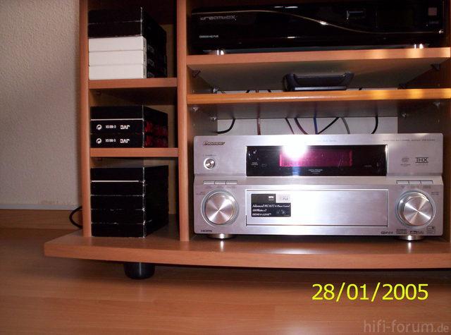 Pioneer VSX AX4AVi Zweitsystem