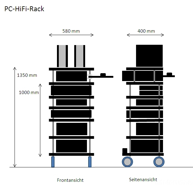 hifi rack selber bauen innenarchitektur hifi rack design. Black Bedroom Furniture Sets. Home Design Ideas