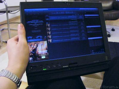 Remote Desktop: Thinkpad X200T