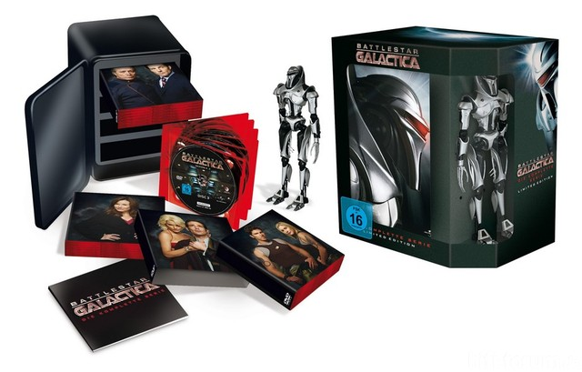 Komplettbox Galactica