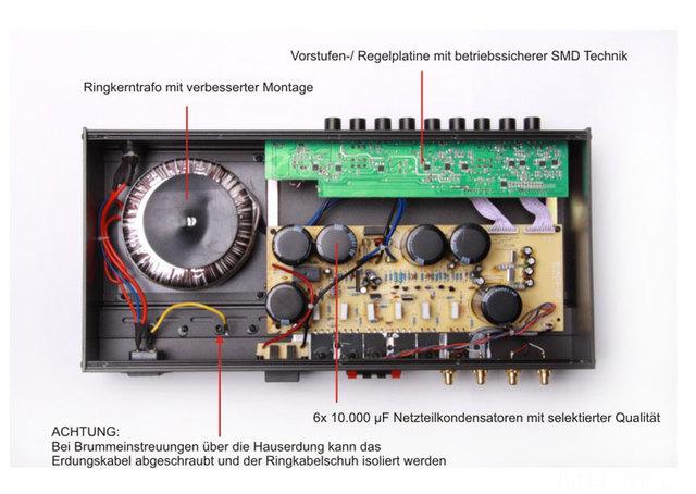 Reckhorn A-403 Innenleben